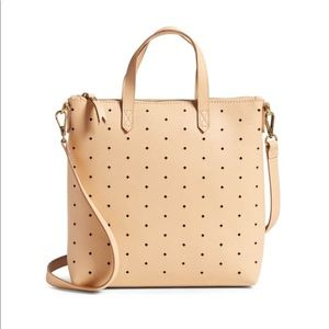 Madewell Transport Perforated Leather Crossbody